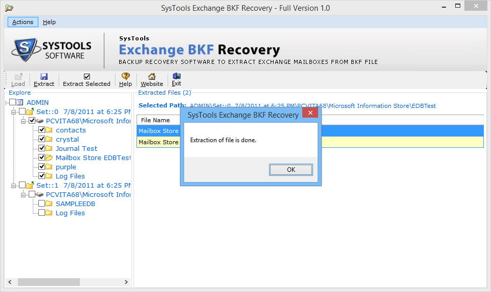 Exchange BKF Recovery 4