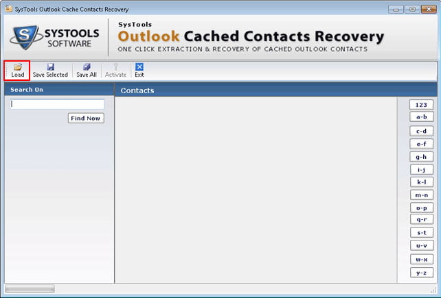 Systools outlook cached contacts recovery 2