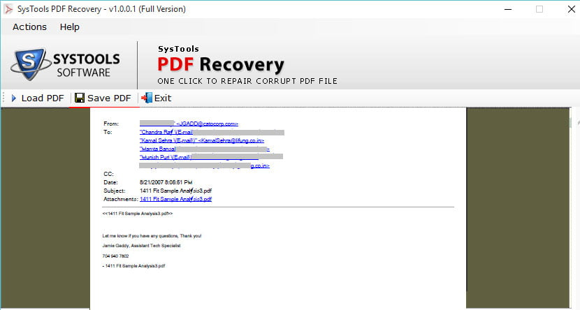 systools pdf recovery 3